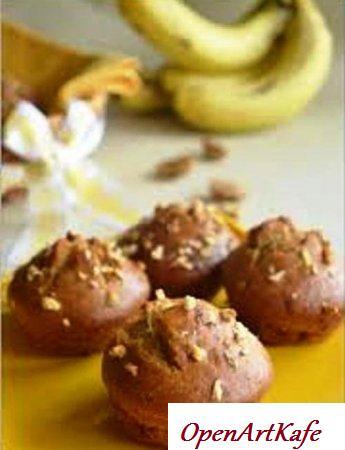 Кексы банановые