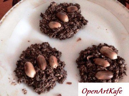 Овсяное домашнее печенье