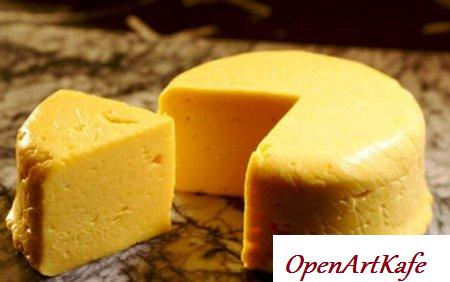 Домашний яичный сыр