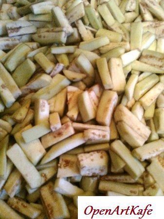 Баклажаны, консервированные с майонезом